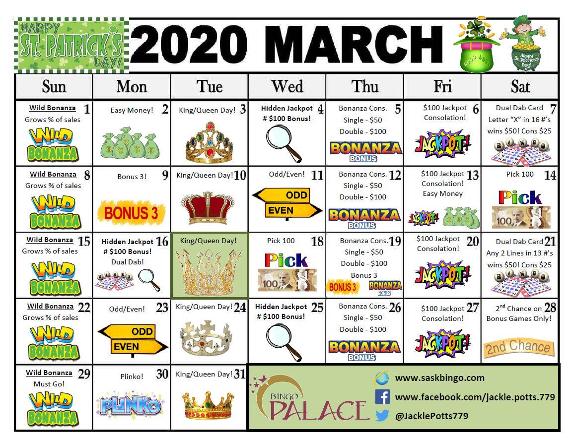 Bingo Palace Pots
